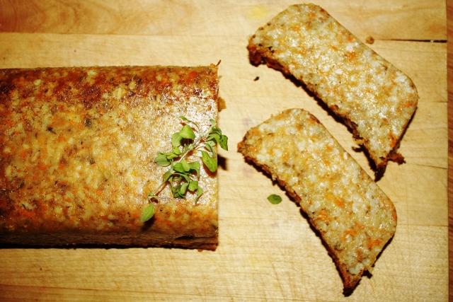 wegetariański pasztet z pęczaku