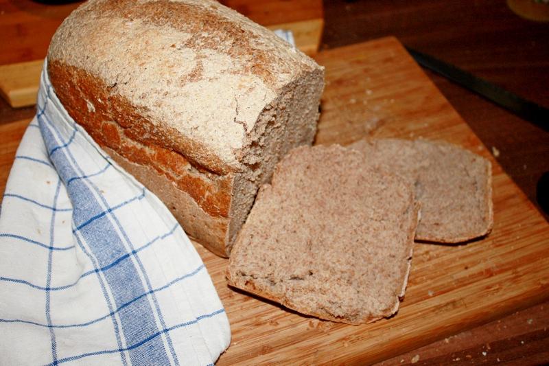Chleb orkiszowy z automatu
