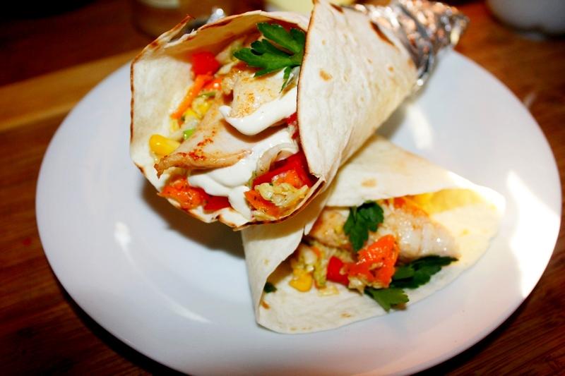 Tortilla z kurczakiem szybkie danie