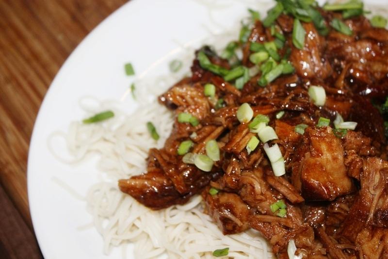 karkówka z sosem sojowym po azjatycku