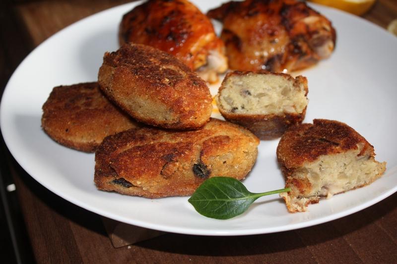 Kotlety ziemniaczano-pieczarkowe