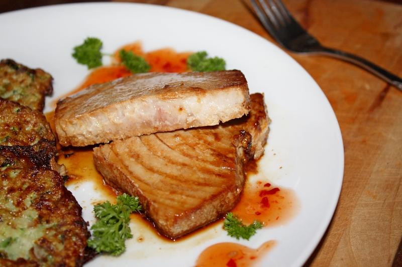 steak z tuńczyka-szybkie,proste