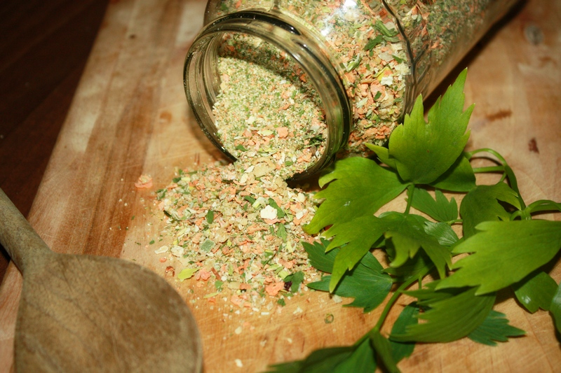 domowe warzywko -przyprawa bez chemii