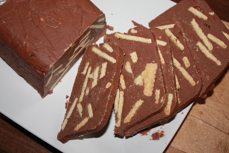 domowa czekolada blok