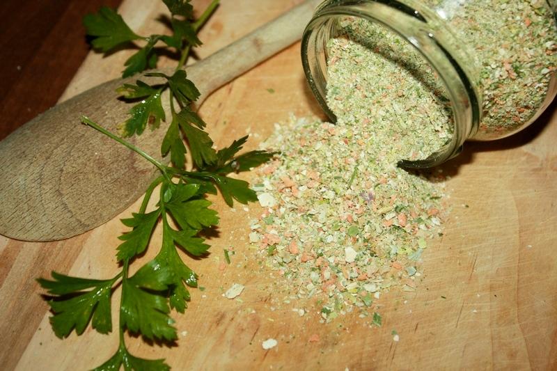 warzywko z pietruszką domowe przyprawy